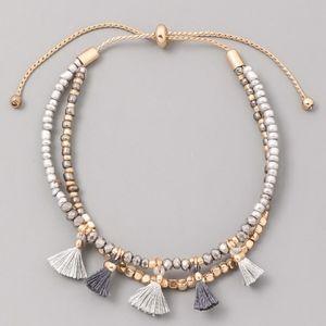 Jewelry - Beaded Tassel Bracelet